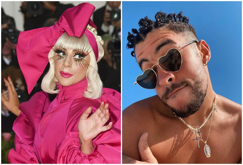 Lady Gaga y Bad Bunny.